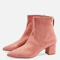Bambi Toe Cap Boots - Shoes