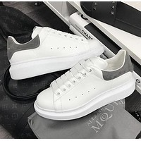 Alexander McQueen Shoes Fashionable casual shoes B-CSXY Grey Tail