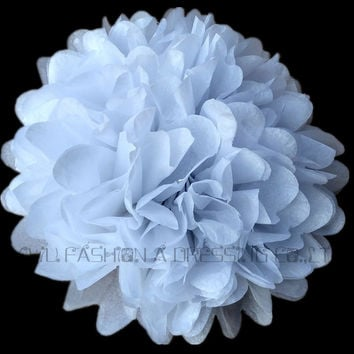 1pcs 8inch(20cm) Hot Sale Tissue Paper Pom Poms Flower Kissing Balls Home Decoration Festive & Party Supplies Wedding Favors jz