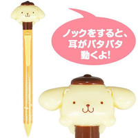 Apple apple pudding action mechanical pencil ☆ Sanrio cute stationery series ★ black cat DM service impossibility