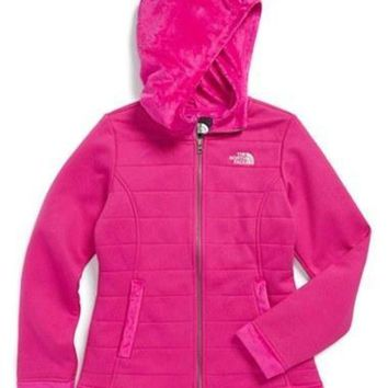 LMFON The North Face Girl's 'Noralina' Hooded Jacket,