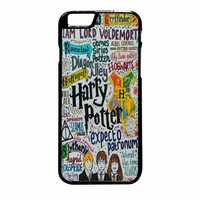 Harry Potter Expecto Patronum Quotes iPhone 6 Plus Case