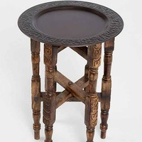 Magical Thinking Folding Side Table- Bronze One