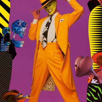The Mask Jim Carrey Movie Poster 21x32