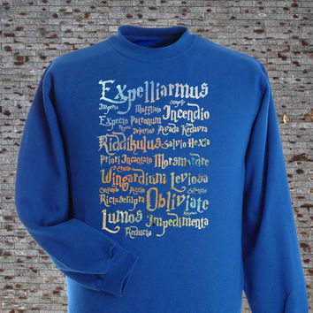 harry potter sweatshirt size s, m, l, xl, 2xl