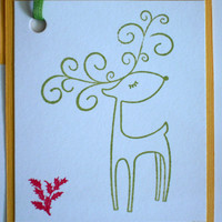 Holiday Gift Tags - Reindeers