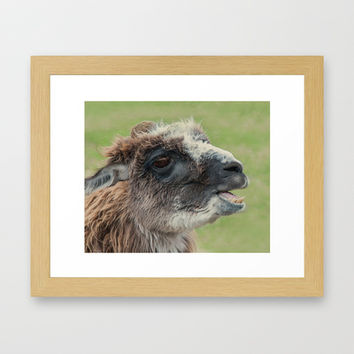 ALLAM-ING Framed Art Print by catspaws