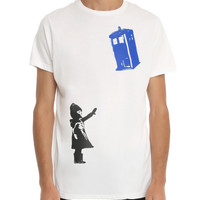 Doctor Who TARDIS Street Art T-Shirt