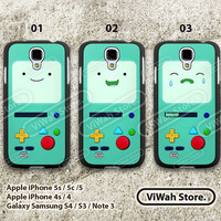 Adventure time bmo galaxy s3 Case,Adventure time Beemo samsung s3 s4 Hard Case Rubber Case,cover skin case for galaxy s3 s4 case