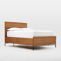 Nash Storage Bed - Teak