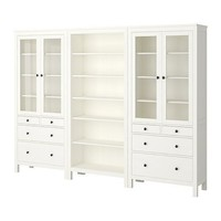 HEMNES Storage combination - white  - IKEA