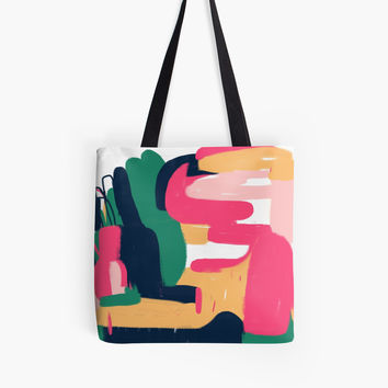 'Untitled' Tote Bag by HaloCalo
