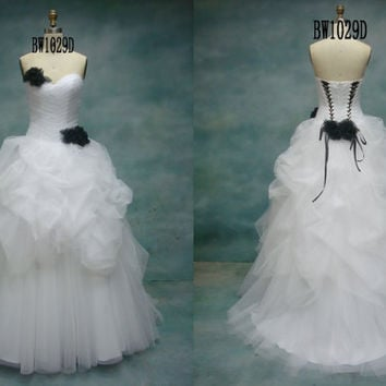 Custom Made Sweetheart Organza Quinceanera Dress,Ball Gown,Formal Gown,Prom Dress,Bridal Gown