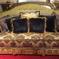 1 Empire style high end sofa. Handmade in Europe.