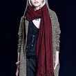Free People Womens Demi Boucle Oversized Scarf