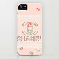 Vintage Love iPhone & iPod Case by Pink Berry Pattern