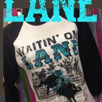 Waitin' on Lane baseball BLACK
