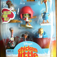 Disney Chicken Little The Big Game Pack 6 Collection Figure Set
