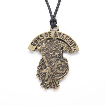 Sons of Anarchy Unisex Necklace with Rope