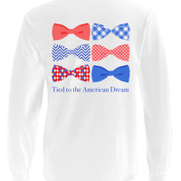 'Tied to the American Dream' Long Sleeve
