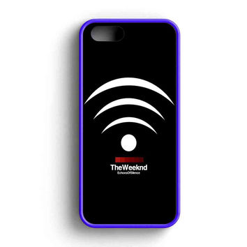 The Weeknd Echoes Of Silent iPhone 5 Case iPhone 5s Case iPhone 5c Case