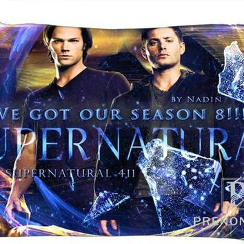 Best Custom Pillow Case Supernatural TV Series Rectangle Pillowcases zipper 35x45cm (One Side Print) @180117-90