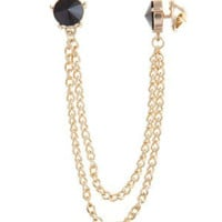 Sweater chain brooch Angle of the chain of the collar of your shirt collar collar clamp collar necklace