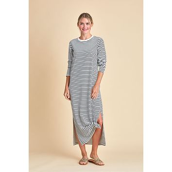 Mod Ref Long Sleeve Striped Jaya Dress