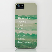 Salt Water Cure iPhone & iPod Case by Olivia Joy StClaire