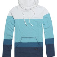 Rip Curl Next Step Pullover Hooded Shirt - Mens Shirt - Blue