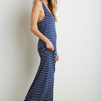Stripe Racerback Maxi Dress