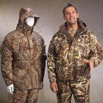 Cabela's Brush Buster™ GORE-TEX® Waterfowl 4-in-1 Systems Parka™ – Regular : Cabela's