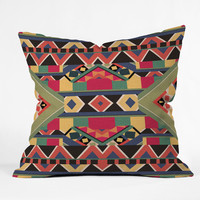 Bianca Green Bold Throw Pillow