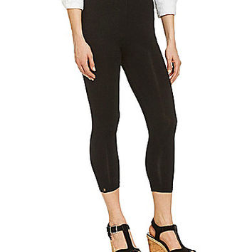 Isabel Crop Leggings - Black