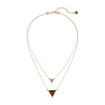 House of Harlow 1960 Temple Pendant Necklace Gold 1 - Zappos.com Free Shipping BOTH Ways