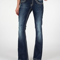 Miss Me Sequin Flare Stretch Jean