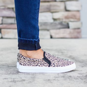 The Prowl Sneaker - Leopard