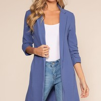 Brushed By Love Duster - Blue