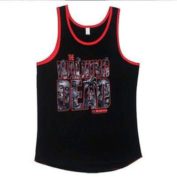 The Walking Dead Zombies Men's Tank Top S,M,L,XL,2XL