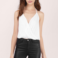 Lost In Love Surplice Cami Top
