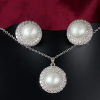 Fashion Jewelry Set High Quality Accessory Earring & Necklace = 4558946692