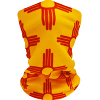 New Mexico Gold/Red Neckwarmer
