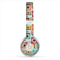 The Retro Boombox Pattern Skin for the Beats by Dre Solo 2 Headphones
