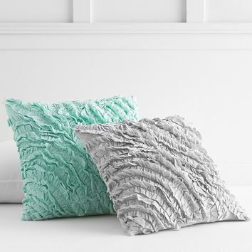Textured Rosette Pillow Cover