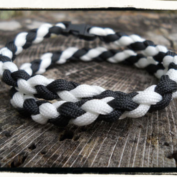 Black White Survival Necklace