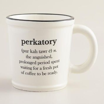 """Perkatory"" Mug, Set of 2"