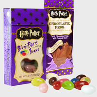 Bertie Bott's Every-Flavour Beans and Chocolate Frog