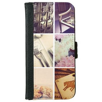 Create Your Own Instagram iPhone 6 Wallet Case