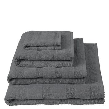 Designers Guild Coniston Charcoal Towels