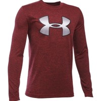 Under Armour Boys' Novelty Big Logo Long Sleeve Shirt